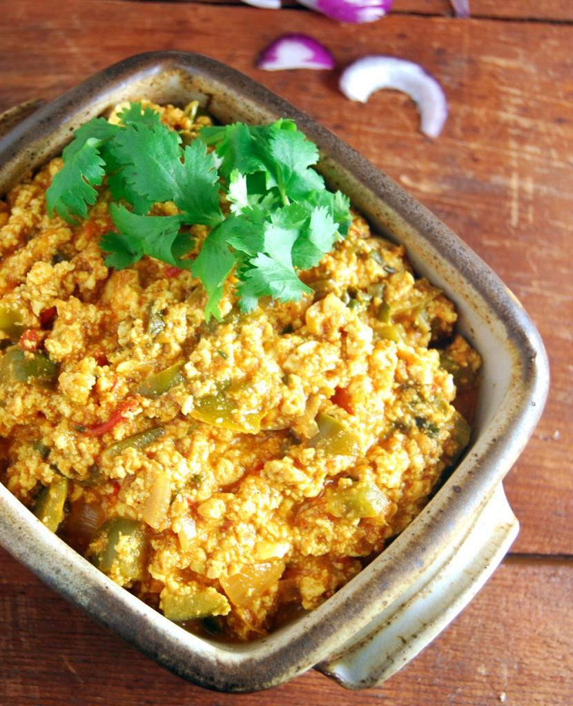 Tofu Paneer Bhurji