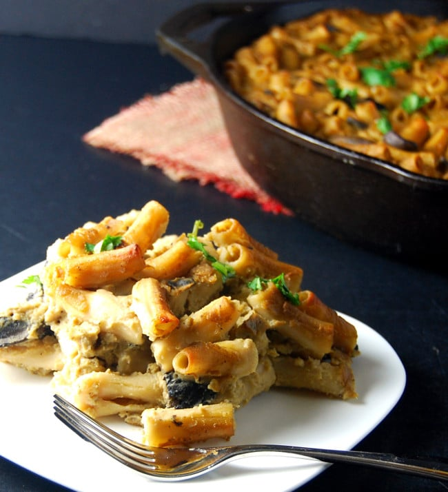 Pasta Gratin in Cauliflower Chickpea Sauce - Holy Cow ...