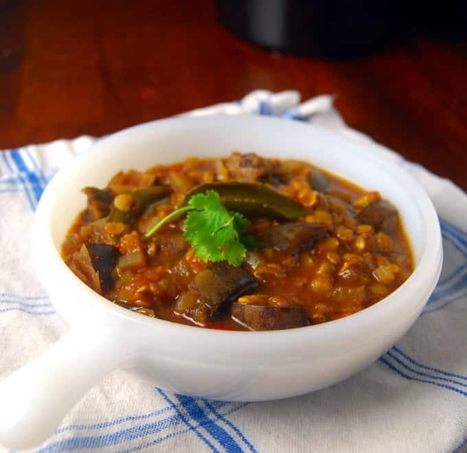 Crockpot Sambar