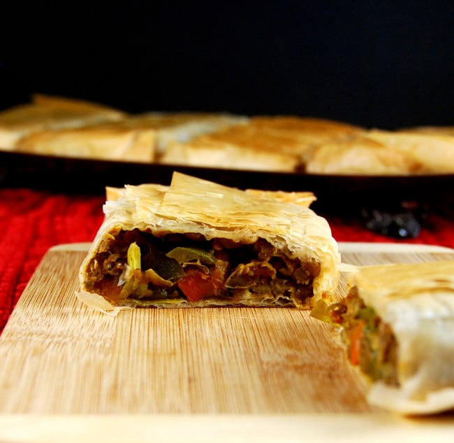 Curried Lentil Hand Pies