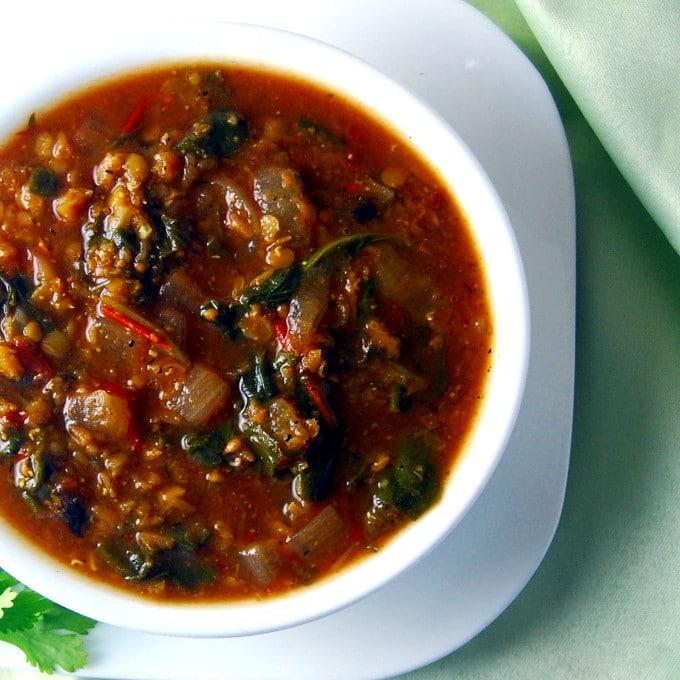 Moroccan Lentil Stew