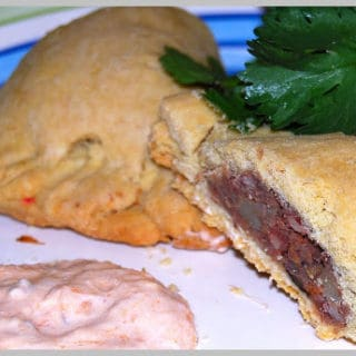 Empanadas With Spicy Bean Filling
