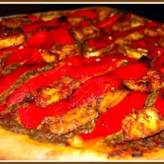 Vegan Tandoori Tofu Pizza