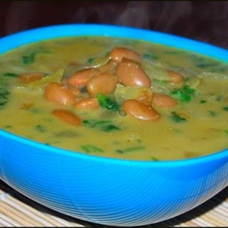 Creamy Canary Beans Curry