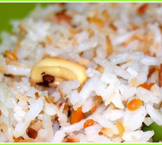 Paws Off The Plate! Coconut Rice