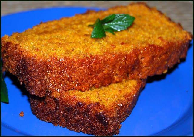 Vegan Mango Bread - holycowvegan.net