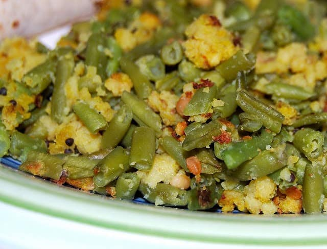 Paruppu Usili with Green Beans