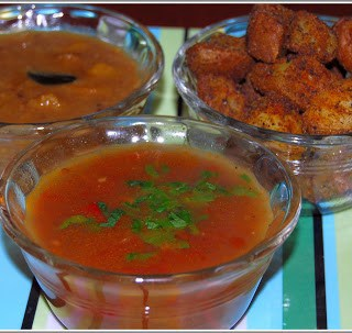 Sambar, Rasam and Potato Curry Recipes