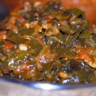 Kashmiri Collard Greens