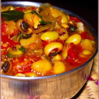 Meera's Black-Eyed Peas Curry (Chawlichi Amti): Toques Off!