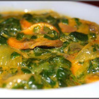Mushroom Spinach Curry