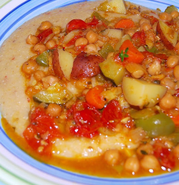 Moroccan Chickpea Stew - holycowvegan.net