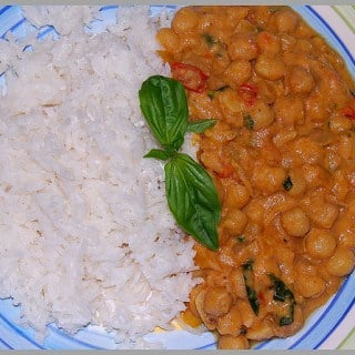 Thai Chickpea Curry