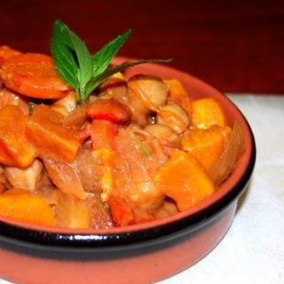 Vegan African Sweet Potato-Peanut Stew