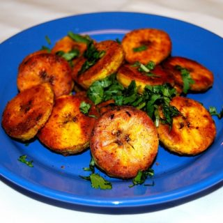 Golden Roasted Plantains