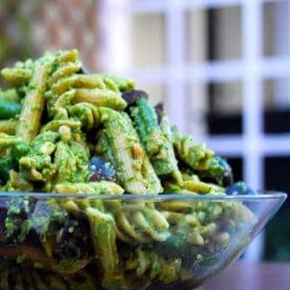 Easy Wholegrain Pasta With Spinach Pesto