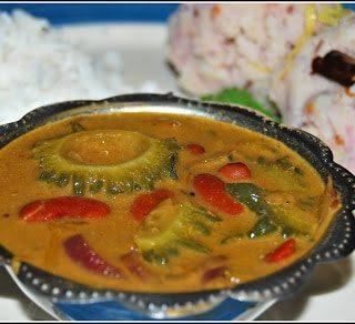 Karela Rajma and Indian-style Mashed Potatoes