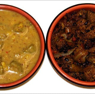 Kathirikka Kai and Vendakka Kuzhambu…