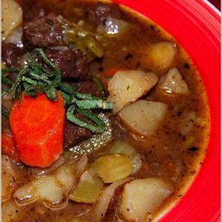 Vegan Lamb Stew (Scouse) For IAVW: British