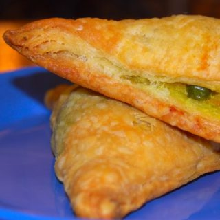 Vegetable Puffs with Puff Pastry - holycowvegan.net