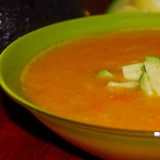 Silky Soup: Butternut-Lima Bean