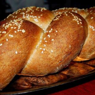 Whole Wheat Vegan Challah