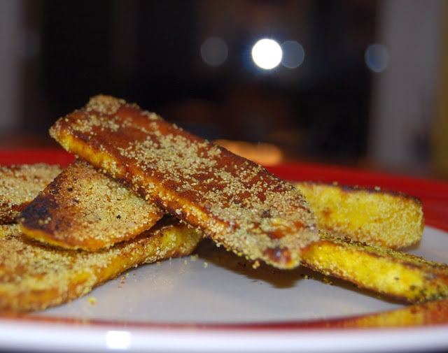 Plantain slices