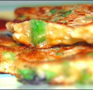 Color Me Healthy: Savory Wholegrain Pancakes