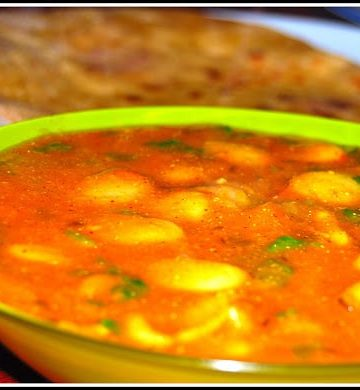 lima bean curry - holycowvegan.net