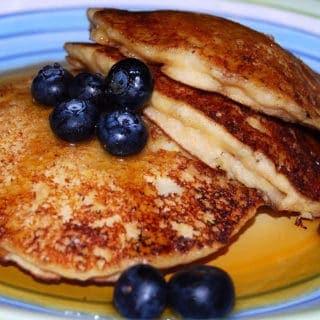 Lemony Vegan Pancakes