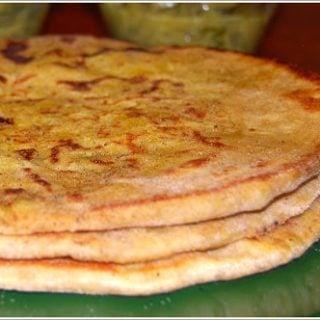 Trinidadian Rotis Stuffed With Split Peas