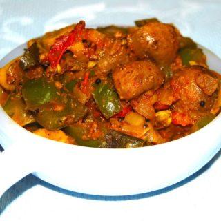 Spicy Mushroom Chettinad