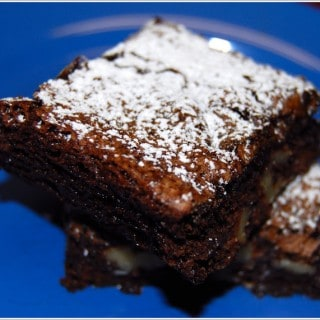 Nearly Fat-Free Brownies