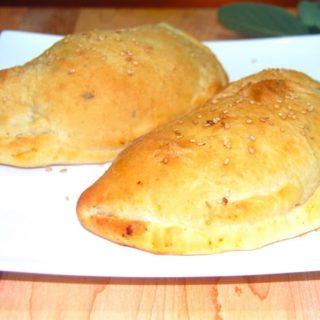 Vegan Kheema-Stuffed Naan-Calzones