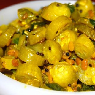 Tendlichi Bhaji