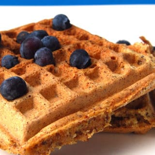 Maple And Wheat Germ Waffles