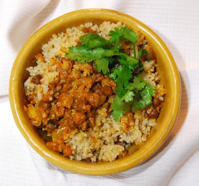 Quinoa Biryani - HolyCowVegan.net