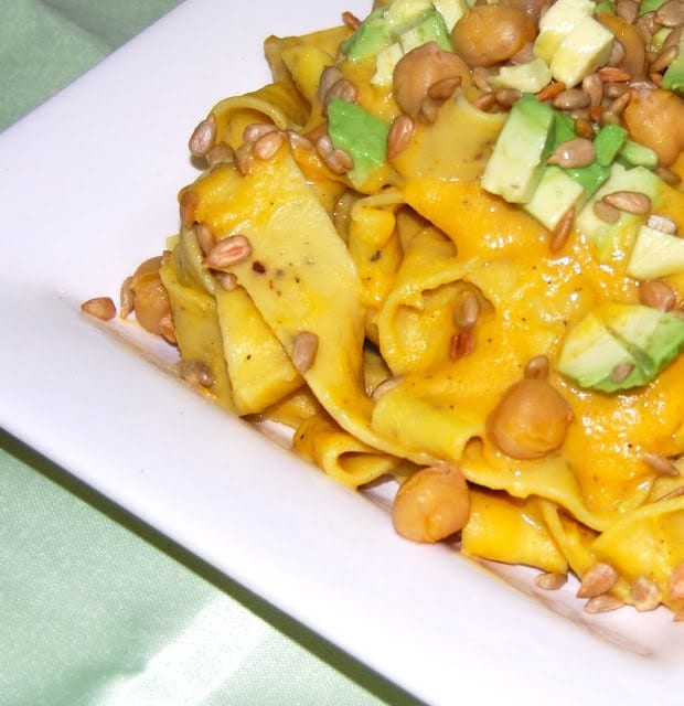 Pasta With Butternut Sauce