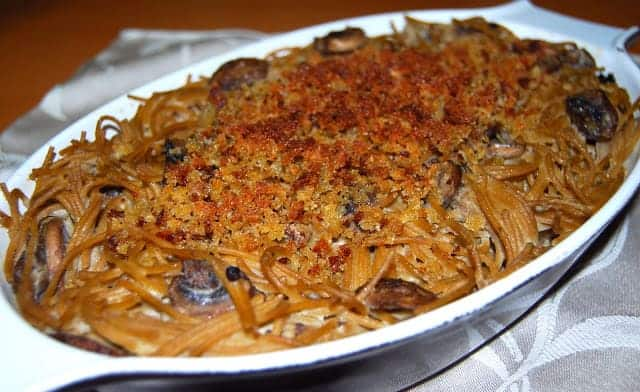 Spaghetti Gratin