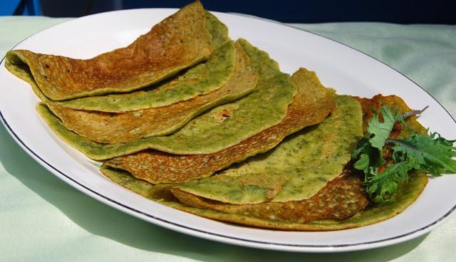 Kale Crepes