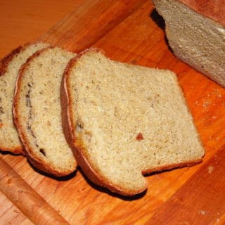 Whole Wheat Vanilla Bread