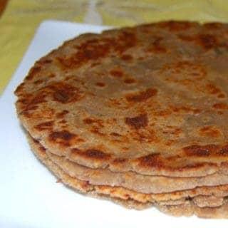 Arbi Paratha, a Vegan, Gluten-Free Flatbread
