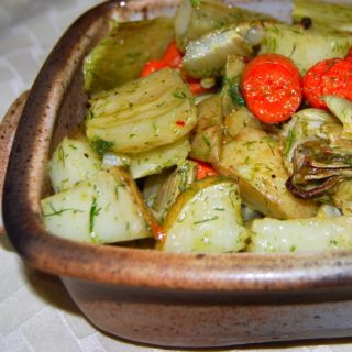 Roasted Vegetables with Fennel Vinaigrette
