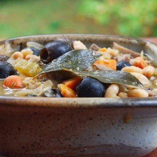 Mushroom and Bean Stew with Rosemary