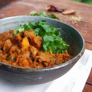 Vegan Goan Beef Curry
