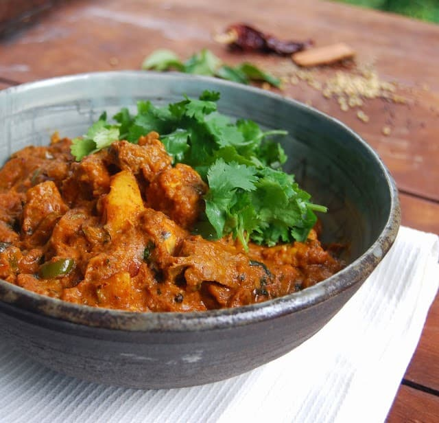 Vegan Beef Curry recipe