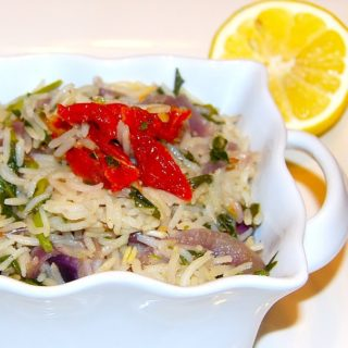 Methi Pilaf With Sun-Dried Tomatoes