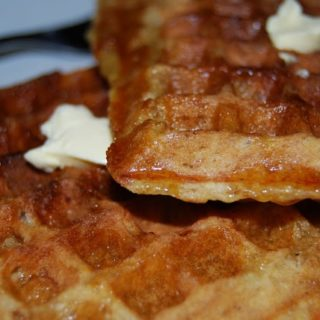 Vegan Wholegrain Waffles