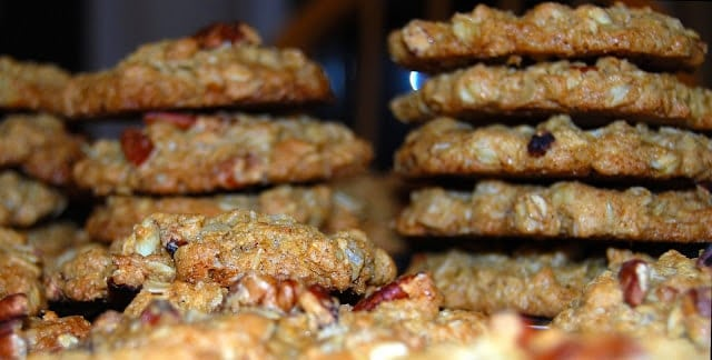 Oatmeal Cookies, vegan and whole-wheat
