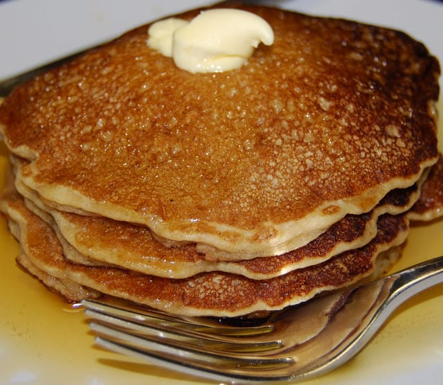 Breakfast Ideas Daniel Fast: Vegan Whole Wheat Pancakes